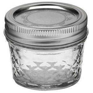 Ball Quilted Crystal Jelly Jar - Fresh Colony
