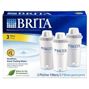 Brita Water Filter Pitcher Replacement Filters - Fresh Colony