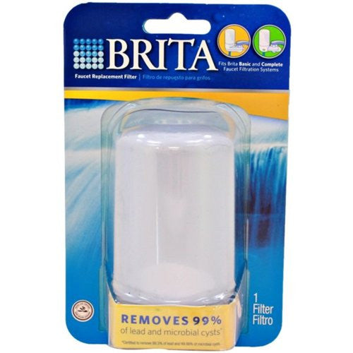 Brita On Tap Faucet Water Filter System Replacement Filters, White, 1 Count - Fresh Colony
