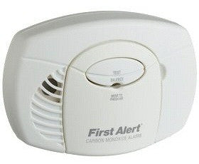 Brk Brands CO250B Battery Powered Carbon Monoxide Detector with Silence Feature, 9V Battery - Fresh Colony