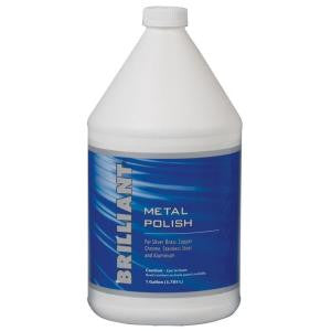 Brilliant Metal Cleaner and Polish, 1-Gallon - Fresh Colony