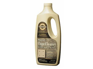 Trewax Vinyl And Linoleum Neutral Floor Cleaner 32 Ounce
