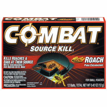 Combat Source Kill Small Roach Advanced Formula Bait Stations - 12 CT - Fresh Colony