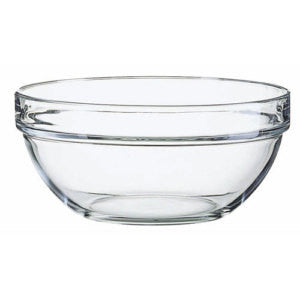"Luminarc E5616 Stackable Glass Bowl 7.75"" - Fresh Colony"