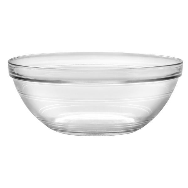 "Luminarc E5618 Stackable Glass Bowl 9"" - Fresh Colony"