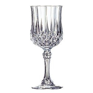 Cristal D'Arques Longchamp 8-1/4-Ounce Goblet, Set of 4 - Fresh Colony