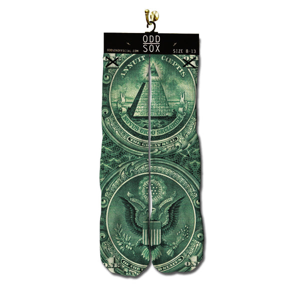 ODD SOX - Dollar BIll socks - Fresh Colony  - 1