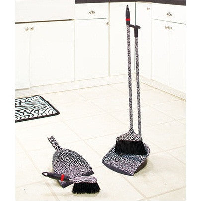 Designer Series By Eagle Long Handle Dust Pan And Broom
