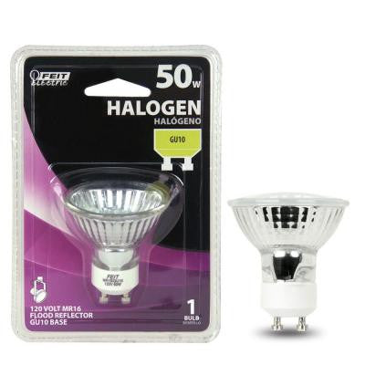 50 Watt - MR16 - 12 Volt - EXN Flood - Open Face - Halogen Light Bulb - H05016636001 - Fresh Colony