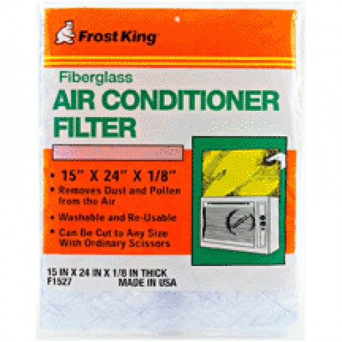 "Frost King F1527 Fiberglass Air Conditioner Filter, 15"" X 24"" X 1/8"" - Fresh Colony"