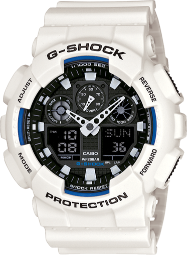 G-Shock - GA100B-7A - Fresh Colony
