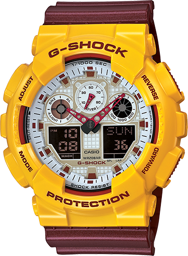 G-Shock - GA100CS-9A - Fresh Colony
