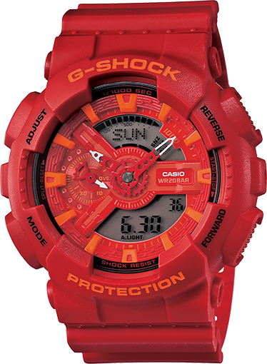 G-Shock - GA110AC-4A - Fresh Colony