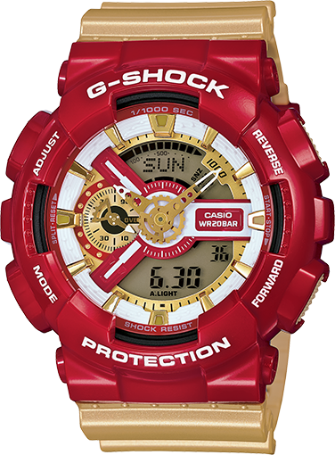 G-Shock - GA110CS-4A - Fresh Colony