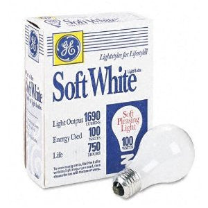 GEL41036 - GE General Purpose Soft White Incandescent Bulbs - Fresh Colony