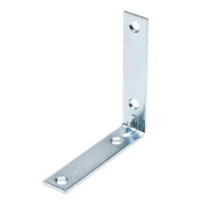 "4 Pack Corner Brace ""L"" Heavy Duty, Choose From Sizes: 1'', 1-1/2'', 2'', 2-1/2'', 3'', 4'', (2 inch) - Fresh Colony"