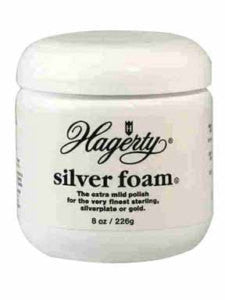 Hagerty Silver Foam Polish Tarnish Unscented Jar 7 Oz - Fresh Colony