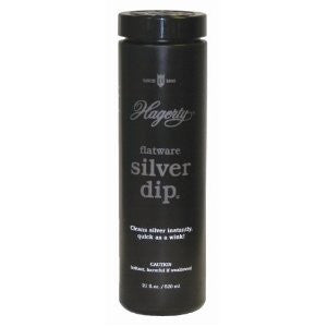 Hagerty 17245 Flatware Silver Dip 16.9-Ounce, Black - Fresh Colony