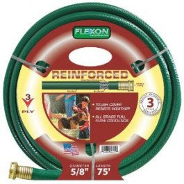 "premium garden & Commercial Flexible 3 ply Hose 5/8"" x 75 feet hb5875l - Fresh Colony"