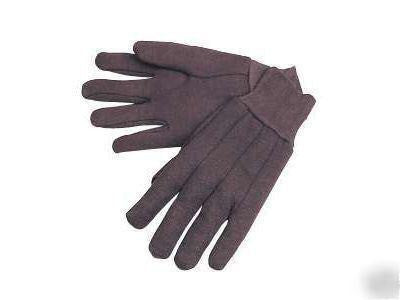 Rothco 4416 Brown Cotton Jersey Work Gloves - Fresh Colony