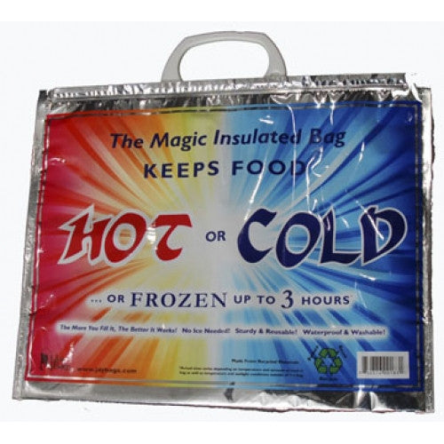 Insulated Bag - Keeps Food Hot or Cold or Frozen Up to 3 Hours - Fresh Colony