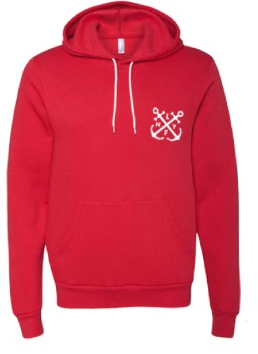 Live Fly Anchor Hoodie - Fresh Colony