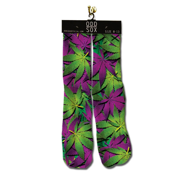 ODD SOX - Leaves Socks - Fresh Colony  - 1