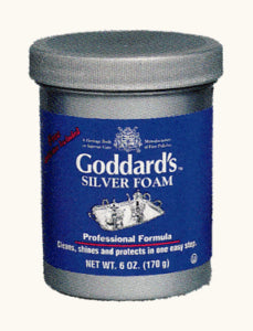 Goddards 707085 Foam Silver Polish, 6 oz - Fresh Colony