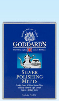 Goddards 1-Pair Silver Polish Mitts - Fresh Colony