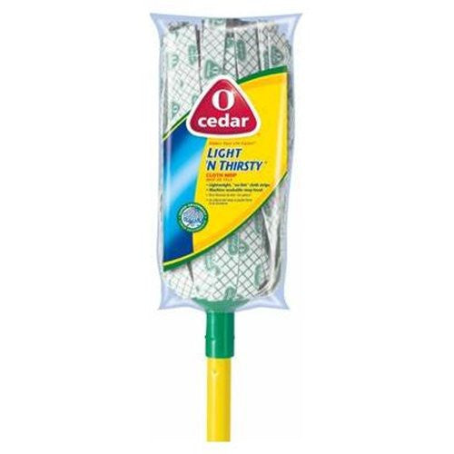 O-Cedar Light 'N Thirsty Cloth Mop - Fresh Colony