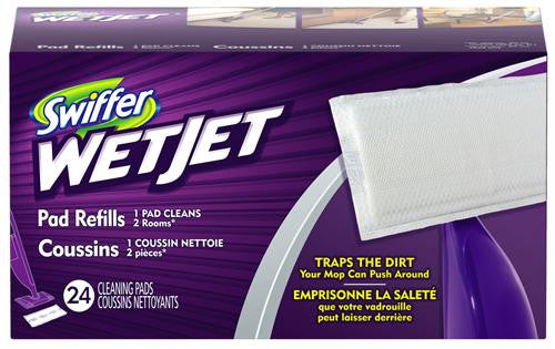 C-Swiffer Wet Rfl Clth Wet Jet Whi 4/24 Count - Fresh Colony