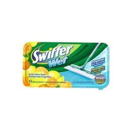 Swiffer Wet Lemon Scented Refills 12 pads - Fresh Colony