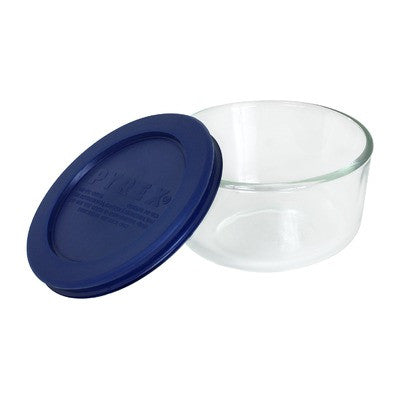 Pyrex Simply Store 1-Cup Round Glass Food Storage Dish - Fresh Colony