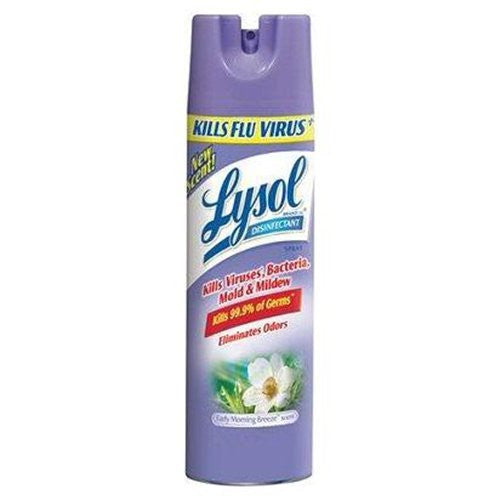 Lysol Disinfectant Spray, Early Morning Breeze, 12.5 oz - Fresh Colony