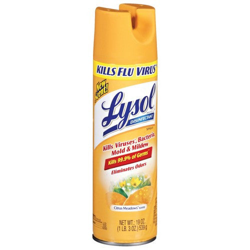 Lysol Disinfectant Spray, Citrus Meadows, 19 Ounce - Fresh Colony