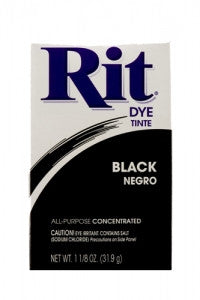 Rit Dye Powdered Fabric Dye, Black - Fresh Colony