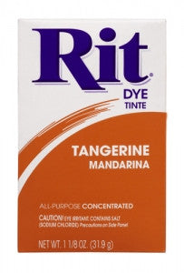 Rit Dye Powdered Fabric Dye, Tangerine - Fresh Colony