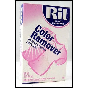 Rit Dye Powdered Fabric Dye, Color Remover, 2-Ounce - Fresh Colony