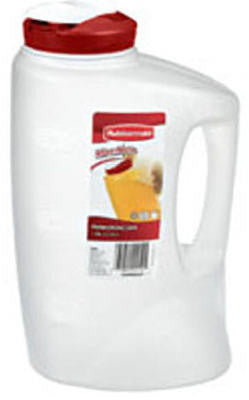 Rubbermaid 7E60 1-Gallon Pitcher (Red) - Fresh Colony