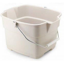 Rubbermaid Home 287100BISQU Roughneck Bucket - Fresh Colony