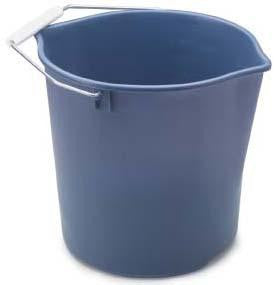 Rubbermaid FG2963TPROYBL Neat 'n Tidy Bucket - Fresh Colony