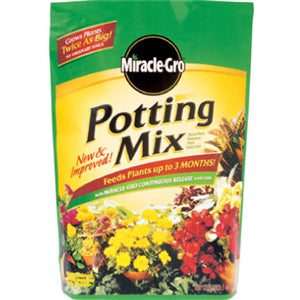 Miracle-Gro Potting Mix, 16-Quart - Fresh Colony