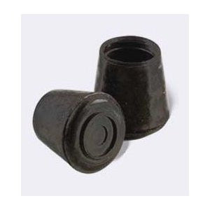 "Rubber Leg Tips, 1"", Black, 4-Pack - Fresh Colony"