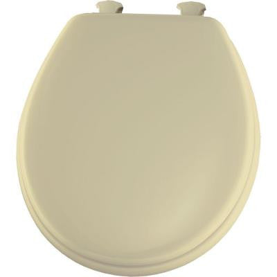 Achim Home Furnishings TOVYSTBN04 17-Inch Fantasia Standard Toilet Seat, Soft Bone - Fresh Colony
