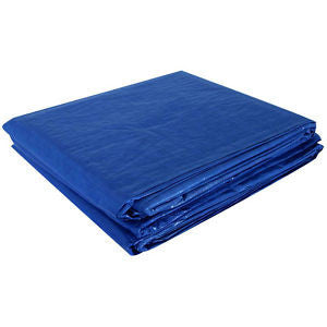 HOWARD BERGER V1216 Reinforced Plastic Tarp (12ft x 16ft) - Fresh Colony