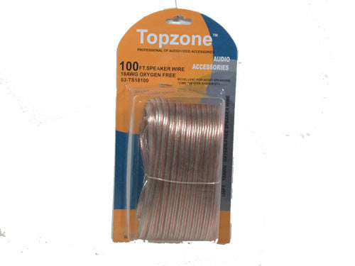 100' 18 Gauge Speaker Wire - High Quality / Durable! - Fresh Colony
