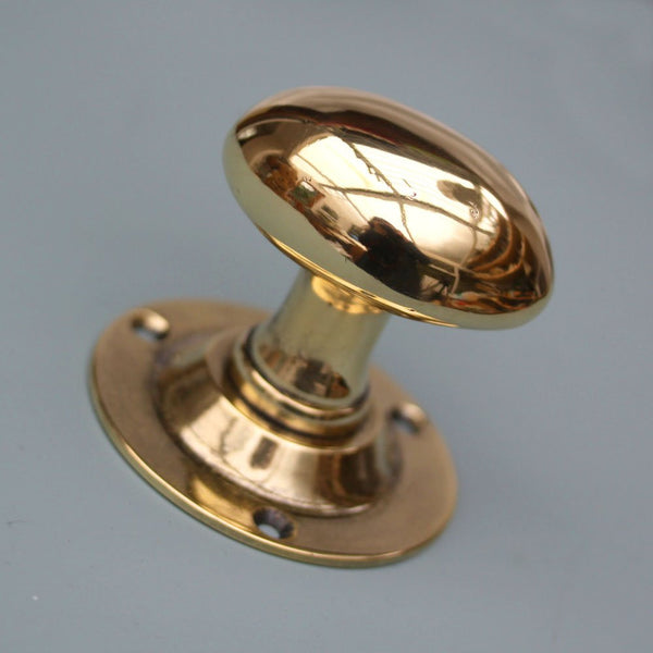 Mortise Lock Solid Brass Door Knob Replacement Set - Fresh Colony