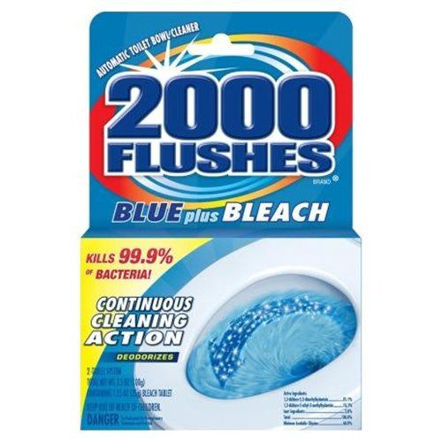 2000 Flushes Toilet Bowl Cleaner Automatic Boxed 3.5 Oz - Fresh Colony