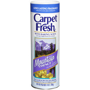 Carpet Fresh 278143 Rug and Room Deodorizer with Baking Soda, 14 oz. Mountain Essence Fragrance - Fresh Colony