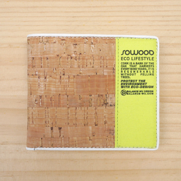 SOWOOD - Cork Wallet - Fresh Colony  - 1